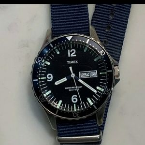 SOLD  Timex J Crew Andros Diver 38mm